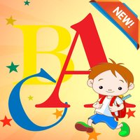 ABC Vocabulary Coloring Book Learning Grade 1-6