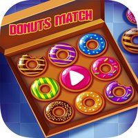 Big Donuts Dazzle Morning Breakfast - Match 3 Game