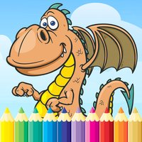 Dragon Dinosaur Coloring Book - Drawing and Painting Dino Game HD, All In 1 Animal Series Free For Kid