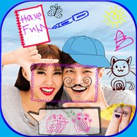 Draw and Write Text on Photo