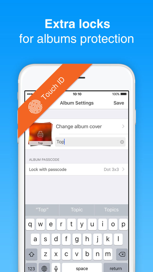 Safe Lock - hide secret photo App for iPhone - Free Download