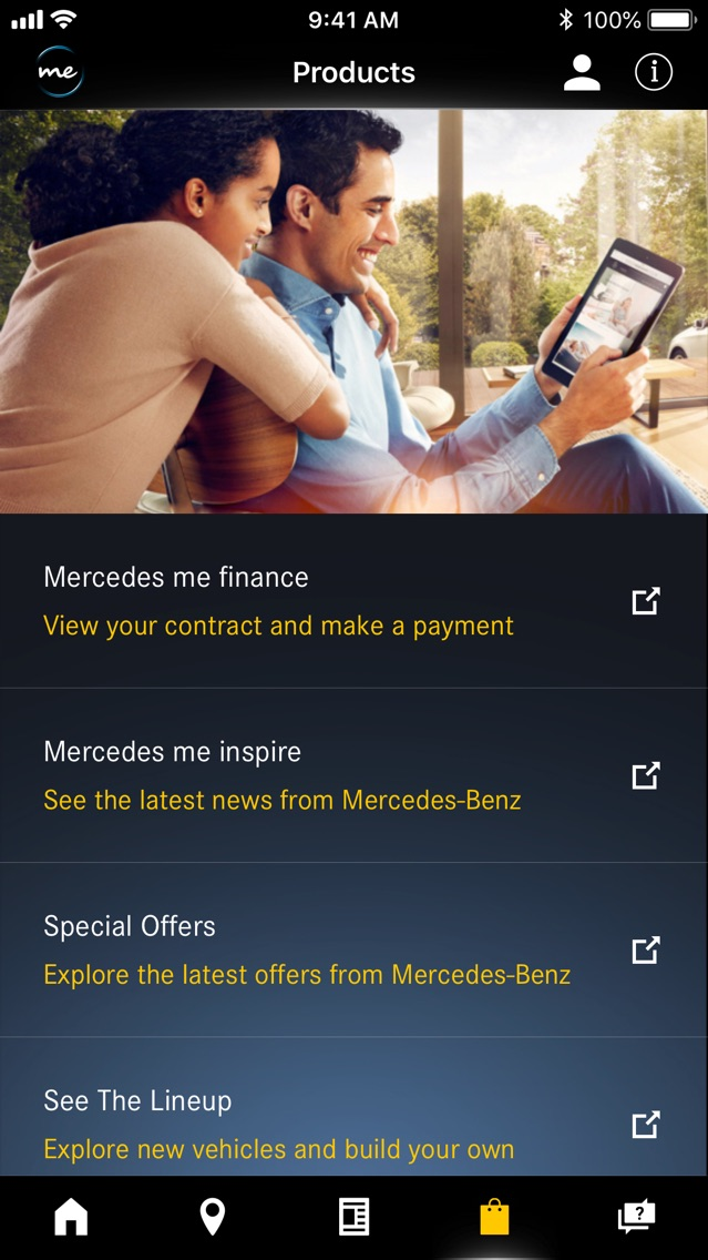 Mercedes me connect (USA) App for iPhone - Free Download