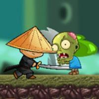 Зомби против ниндзя - охотники на змоби