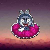 Oreo The Rabbit Emoji Stickers