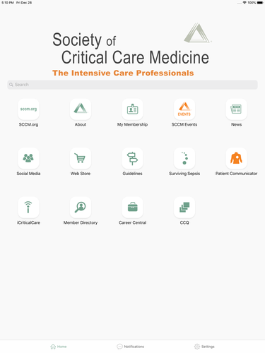 Society of Critical Care Med App for iPhone - Free Download