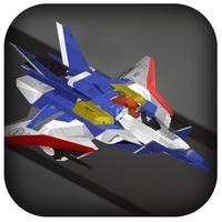 3D Air-Craft Tunnel Twist - A War-Craft Space Galaxy Hovercraft Fly