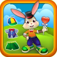 Cute Bouncy Bunny Rabbit - Dressing up Game for Kids - Free Version