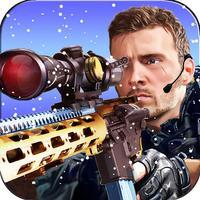 Arctic Commando sniper shooter - Army war