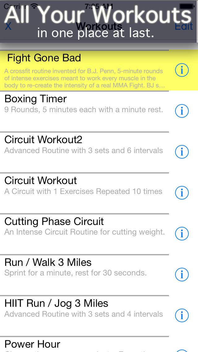 Circuit Training Timer App