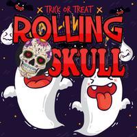 Rolling Calavera Sugar Skull