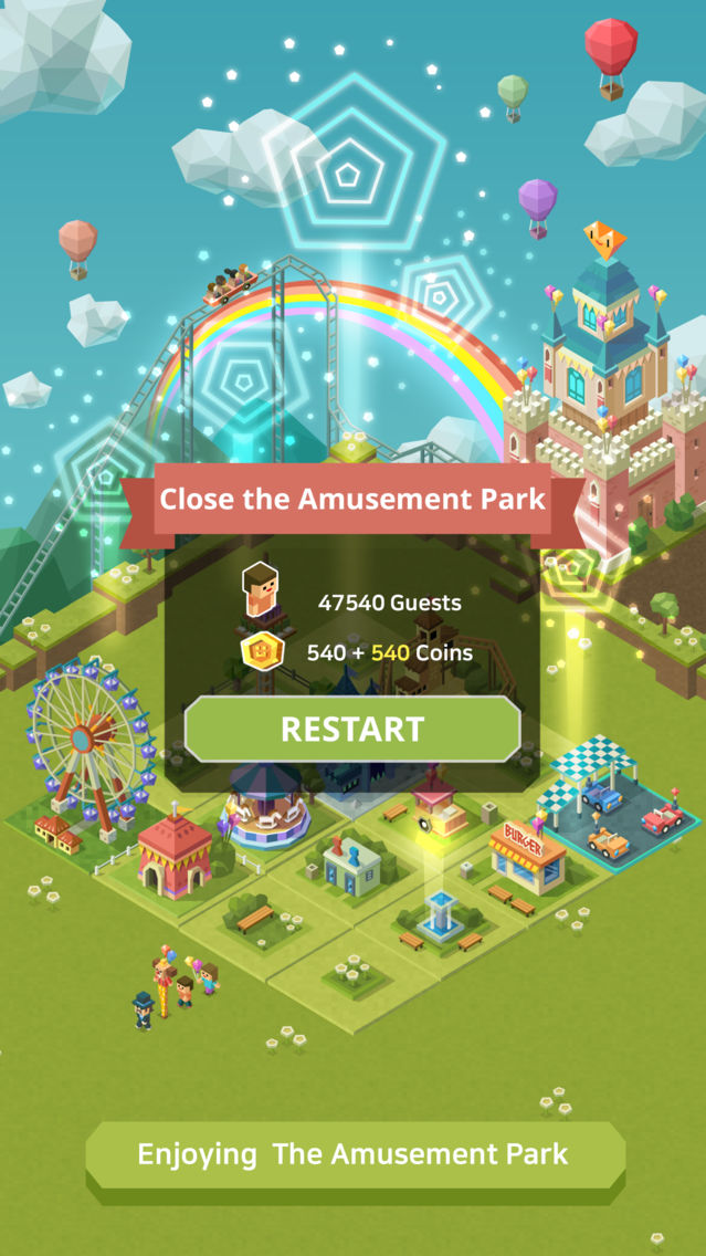 2048 Tycoon: Theme Park Mania App for iPhone - Free Download 2048