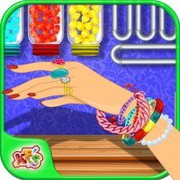 Princess Bracelet Maker – Make, design & decorate the jewelry in this girls game