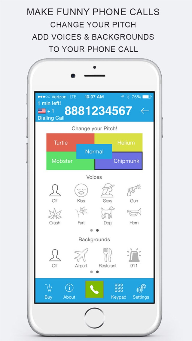 prankdial app for iphone