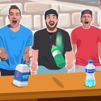 4in1 Bottle Flip Challenge 2K17