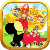 Toddler Learning Dinosaur Shapes & Alphabet