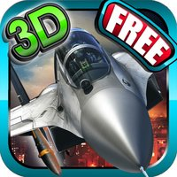 Fighter jet 3D Tactical attack : Chaos Dog-fights over the sea coast line