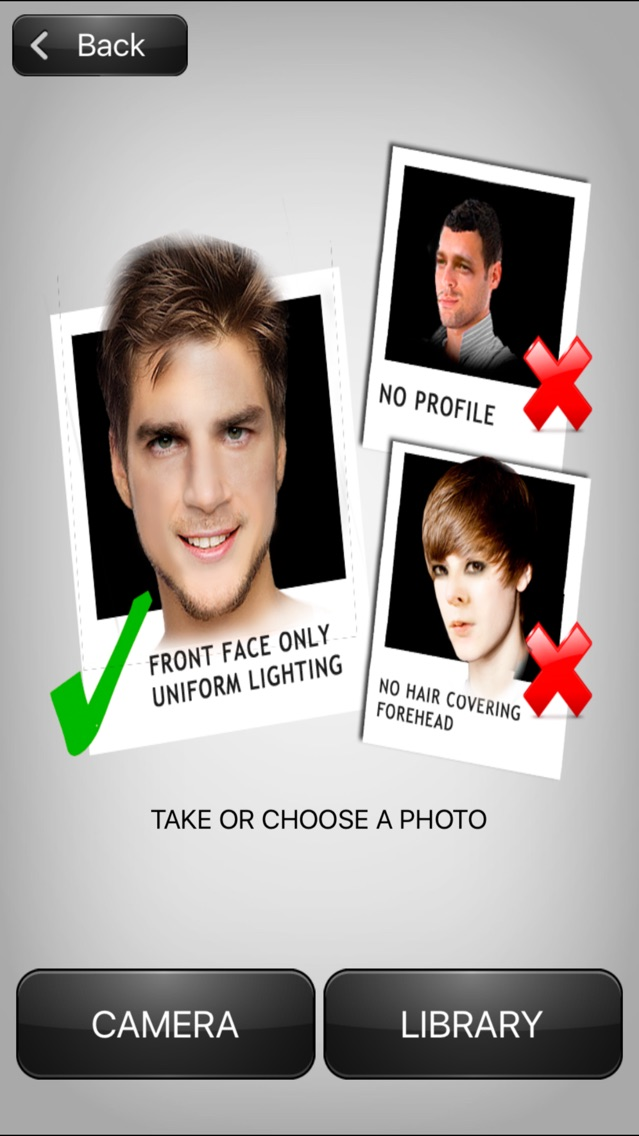 ORCBOOTH Morphing Faces Photo Booth App for iPhone - Free