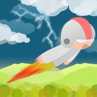 Rocket Man Fly Endless