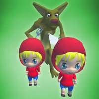 Little Red Cap Twins - Endless Double Runner Game