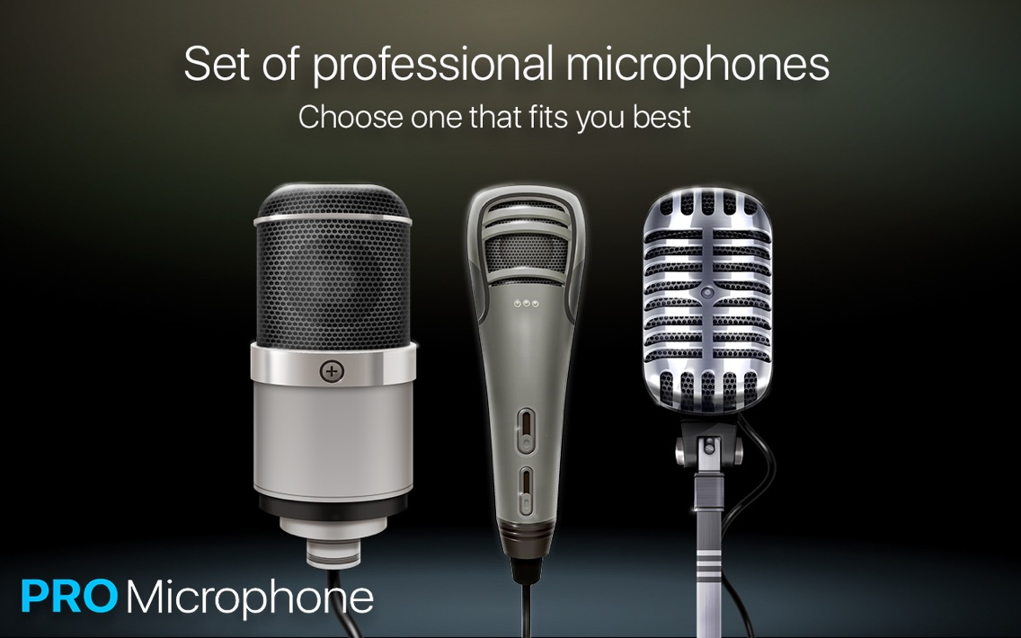 Pro Microphone Tool App for iPhone - Free Download Pro