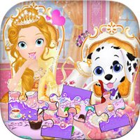 little princess education games with jigsaw