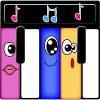 Cute Monster Piano Keys