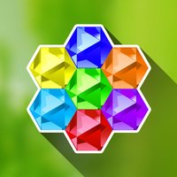 Hexazle - Hexagon Puzzle to connect, match and balance hexagons into snake or cross