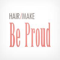 ヘアメイク Be Proud アプリ