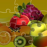 Jigsaw Puzzle for Fruits