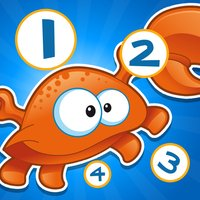 An Ocean Counting Game for Children to learn and play with Marine Animals