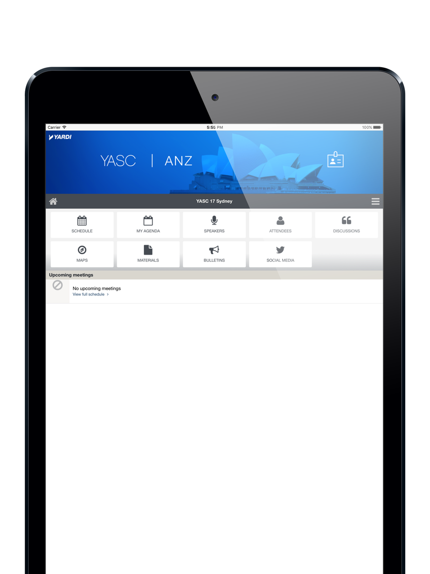 Yardi Events App for iPhone - Free Download Yardi Events for