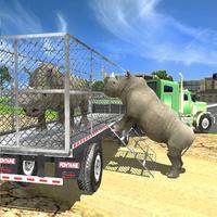 Wild Animal Rescue Service Truck Driver Simulator