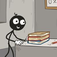 Can You Help Stickman Escape School?