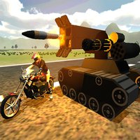 Gunship Bike Rider Ground Force Strike : Tanks Battle Action Games