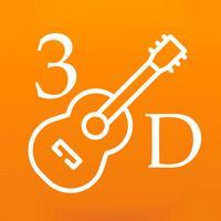 3D Guitar Fingering Chart