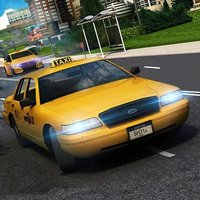 Taxi Cab City Simulator 2018