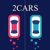 Crazy 2Cars - Addictive Challenge Fingertip Game