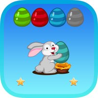 Bubble Shooter Egg Bunny : Match Pop Mania 2D Free Game