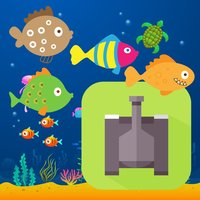 Fish Army Dash - shooter games for kids