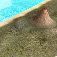 Volcanic Mountain 3D