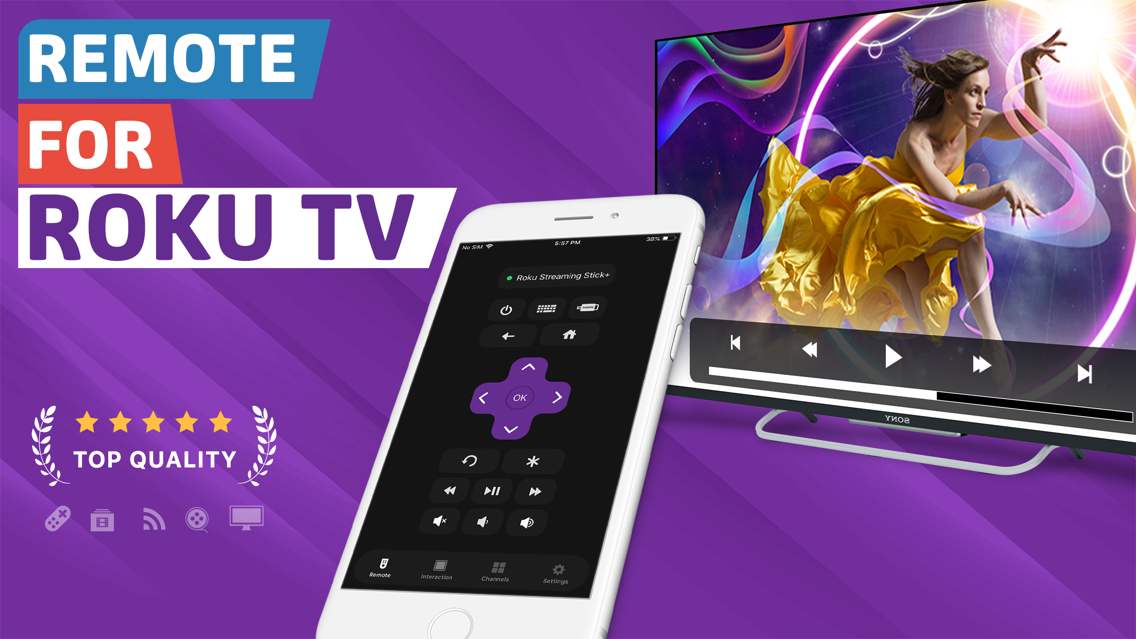 Remote for Roku TV - iRemote App for iPhone - Free Download