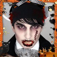 Scary Paranormal Face Changer - Halloween Prank Sticker Maker