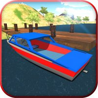 Real Police Boat Parking Simulator Game 3d
