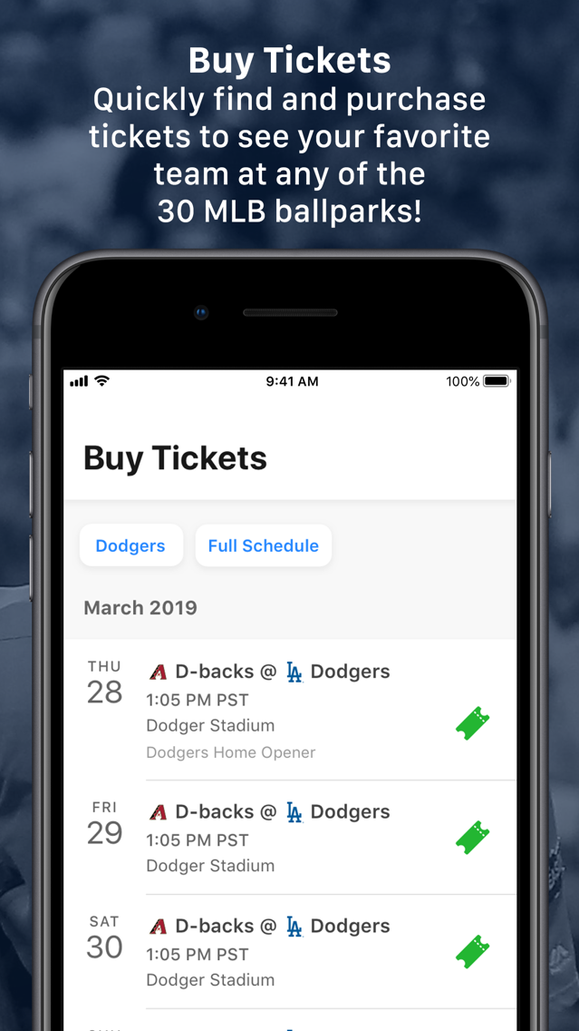 MLB Ballpark App for iPhone - Free Download MLB Ballpark for iPhone