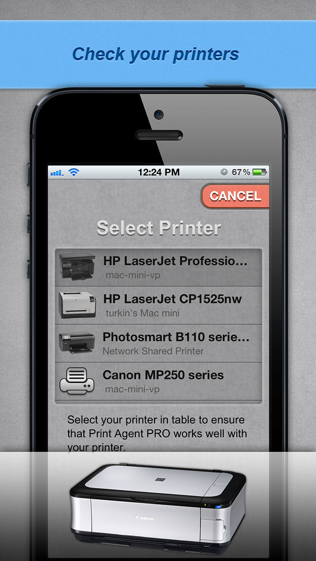 Print Agent Lite App for iPhone - Free Download Print Agent