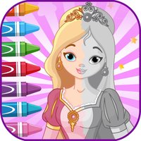 PrincessColoringBooksLearning