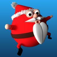 Bouncy Santa Claus