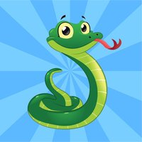 Rolling Snake Slithering In Square Match 5 Puzzle