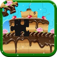 Cupcake Jigsaw Puzzle - Kids Educational Puzzles Games