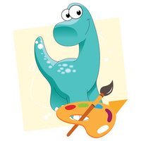 Dinosaur Kids Toddler Coloring Book Pages Learning
